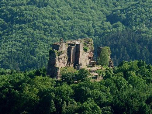 El castillo de Fleckenstein