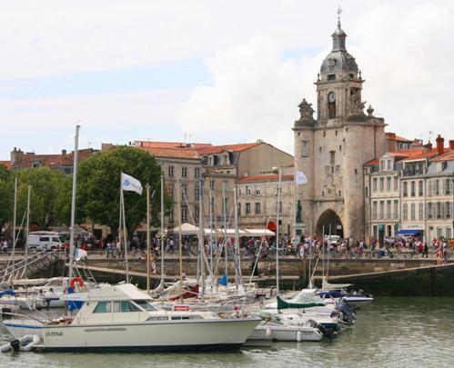 La ciudad vieja de La Rochelle