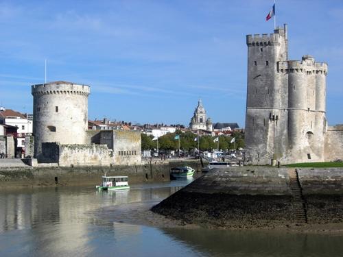 El puerto viejo de La Rochelle