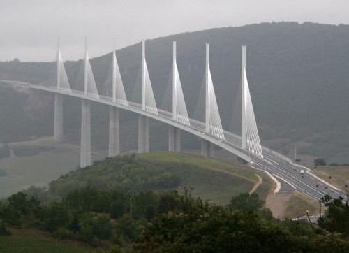 El puente más alto del mundo, en Aveyron