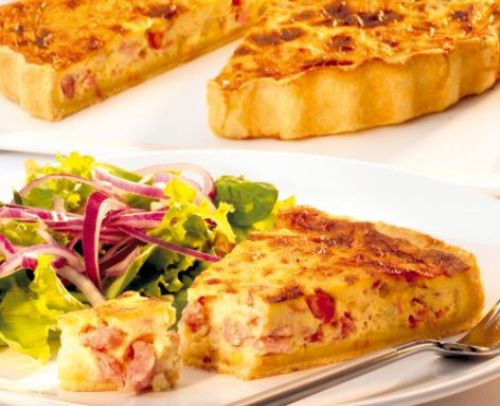 Quiche lorraine una receta francesa for Cocina francesa