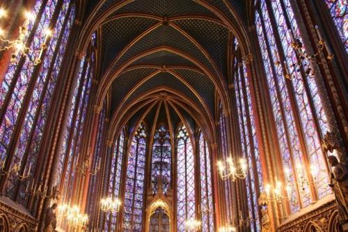 Sainte Chapelle, Paris.