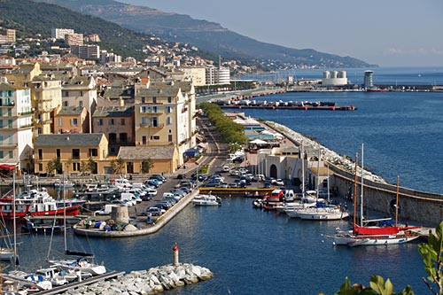 Bastia, en la isla de Corcega