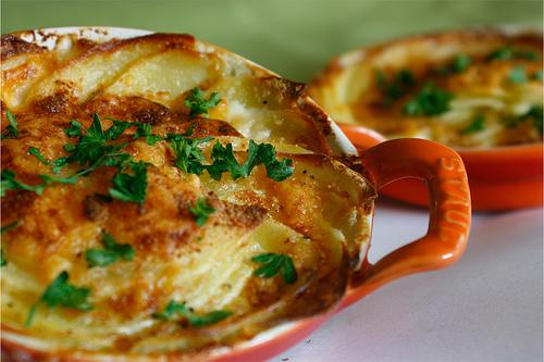 Gratin Dauphinois, un tipico plato de Occitania