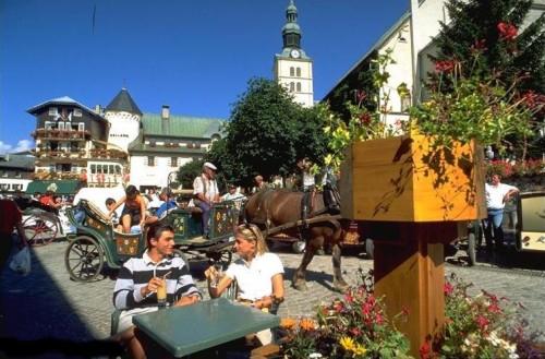 Megeve, los Alpes todo el año