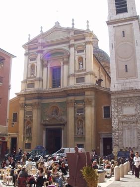 La Catedral Católica Romana de Niza, Ste-Reparate.