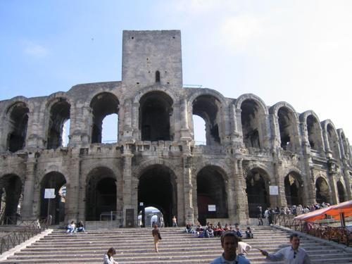 El anfiteatro romano de Arles, Patrimonio de la Humanidad
