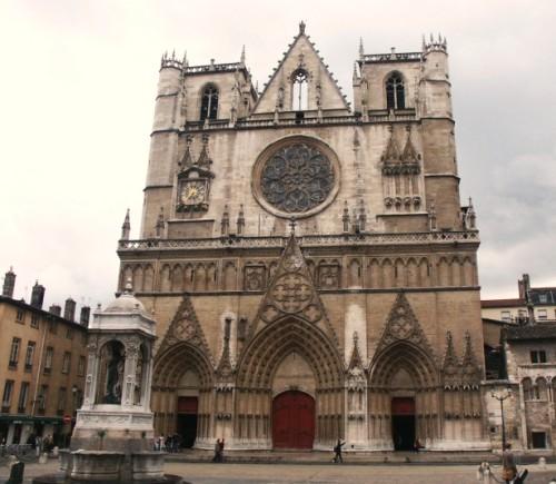 Lyon, la Catedral de Saint Jean