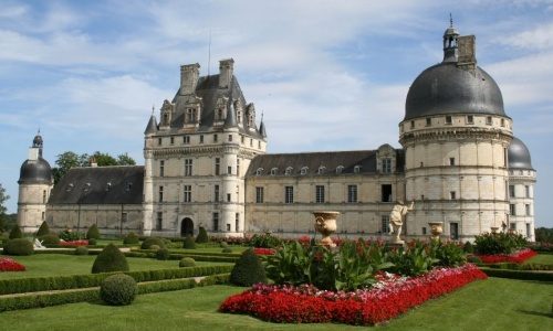 El castillo de Valencay