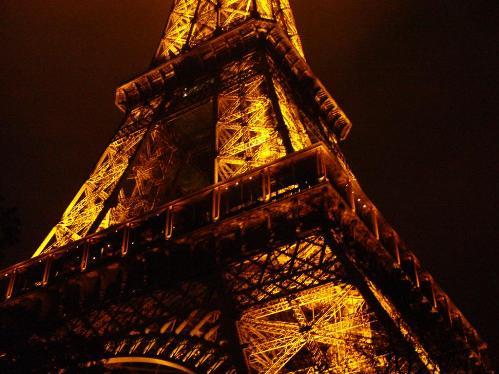 Paris, Torre Eiffel de noche