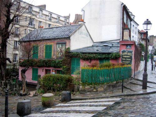Lapin Agile, el cabaret más antiguo de Paris