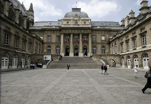 El Palacio de Justicia, en Paris