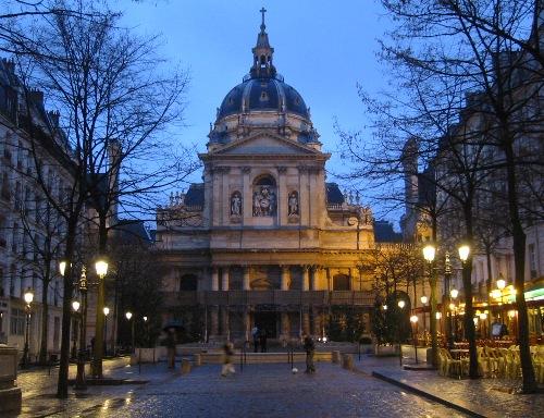 La iglesia de la Sorbona