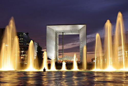 Grande Arche de la Fraternite, Paris