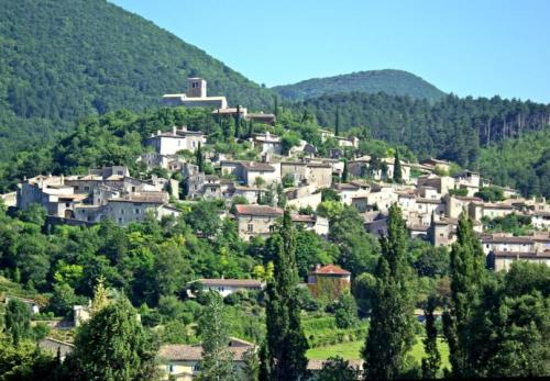Mirmande, un pueblo de Rodano-Alpes