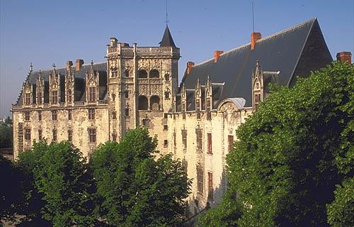El castillo de los Duques de Bretaña, Nantes