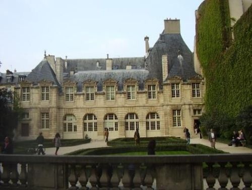El Palacio de Sully, en Paris