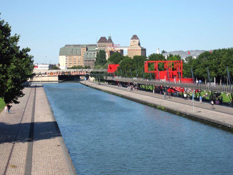 El Parque de la Villette, en Paris