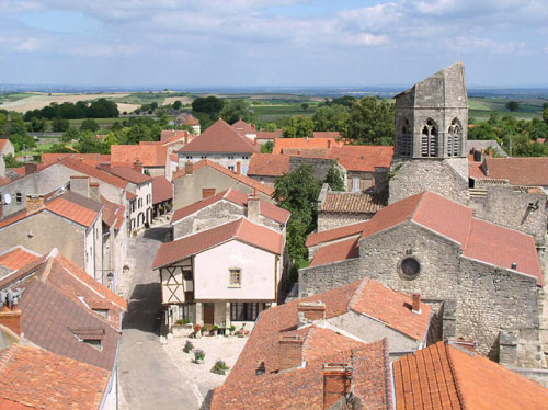 Visitando la comuna de Charroux