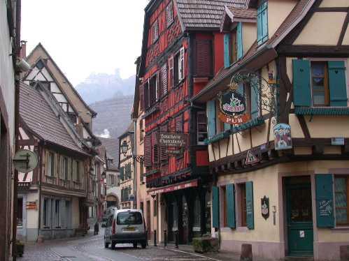 Ribeauville, la ciudad de los castillos