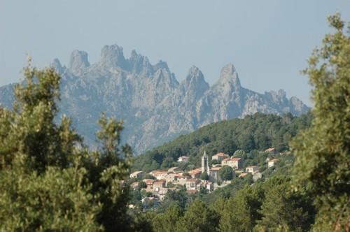 La ruta de Bavella, en Córcega