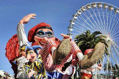 Celebrar los Carnavales en Francia