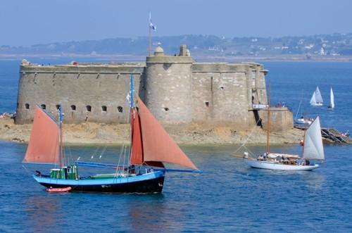 El Castillo de Taureau, en la bahía de Morlaix