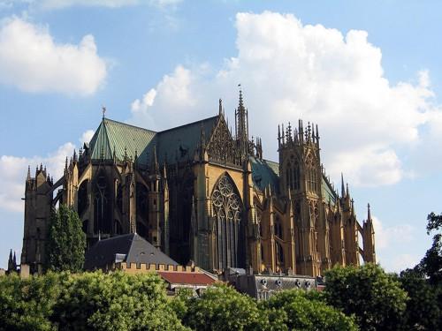 La Catedral de Saint Etienne, en Metz