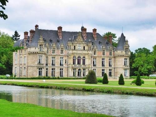 Chateau d Esclimont, alojarse en un castillo del siglo XVI
