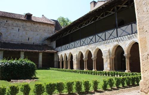 La abadía de Flaran en Gers
