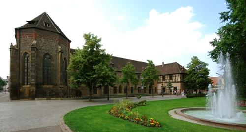 El Museo Unterlinden, en Colmar