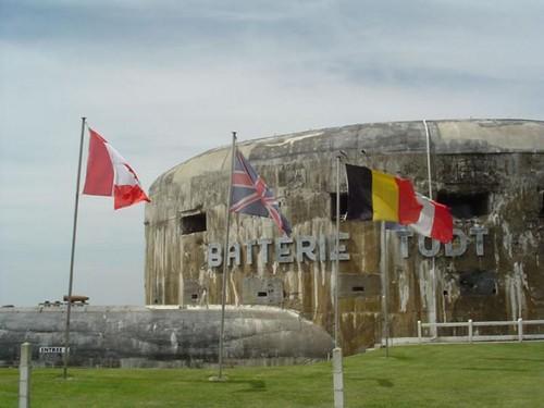 El Museo del Muro del Atlántico, en Audinghen