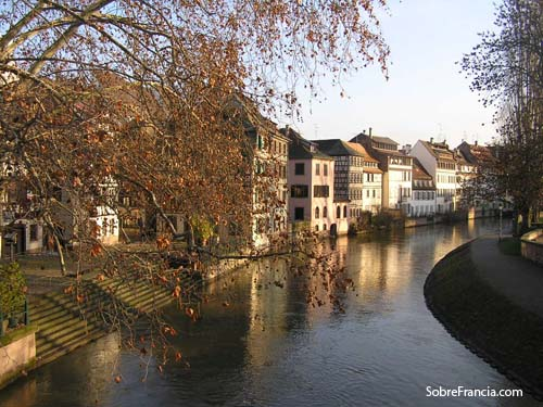 Petite France en Estrasburgo