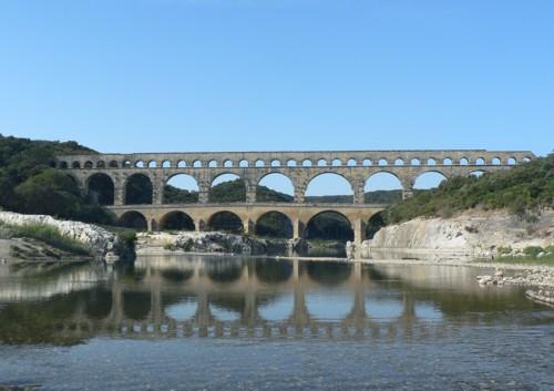 Pont du Gard, Patrimonio de la Humanidad en Nîmes