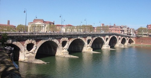 Puente Nuevo, en Toulouse