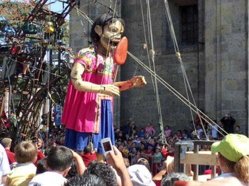Nantes y los muñecos gigantes