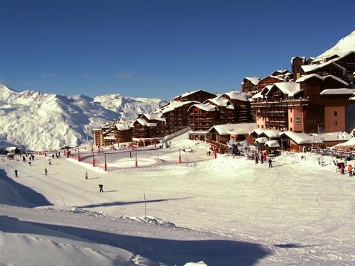 Val Thorens, el centro de esquí más grande del mundo