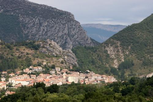 La villa medieval de Serres, en la Provence