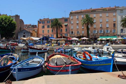 Ajaccio, capital de Corcega y cuna de Bonaparte