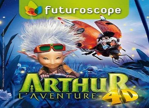 Arthur la aventura 4D, nueva atracción de Futuroscope