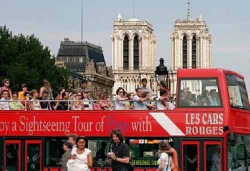 Recorrer París en autobús