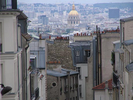 El barrio de Montmartre, en París