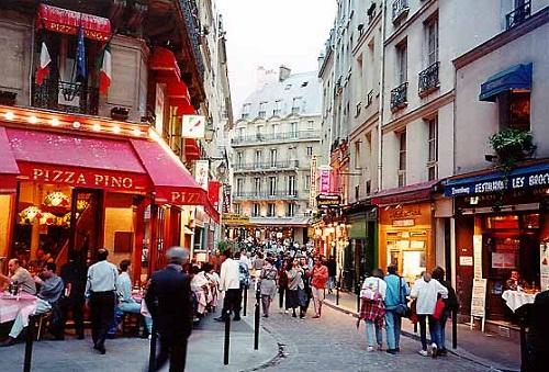 El variopinto Barrio Latino de París