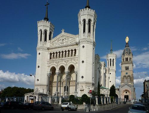 La Basílica de Notre Dame de Fourvière