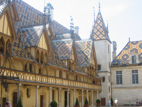 Beaune, capital del vino borgoña