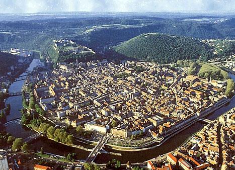Besanzón y la historia de una ciudadela