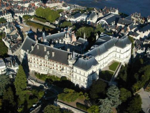 El Castillo de Blois, en el Loira