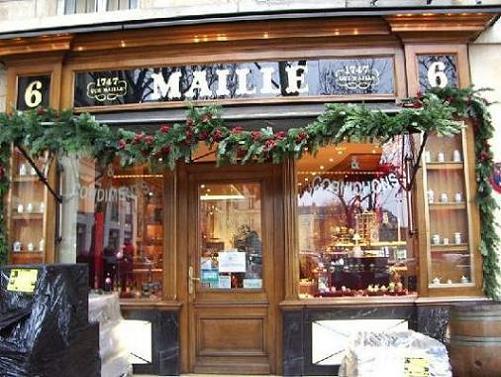 Tiendas Maille, las mostazas más populares