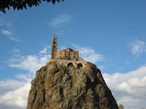 Saint Michel de Aiguilhe, la capilla en la aguja