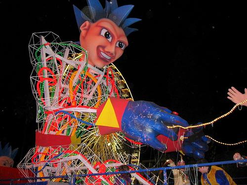 El carnaval de Niza 2010, fiesta y color en Provenza
